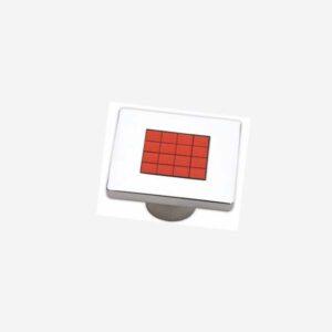 Anastas Düğme Kırmızı