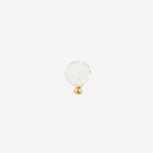 Kristal Düğme Gold